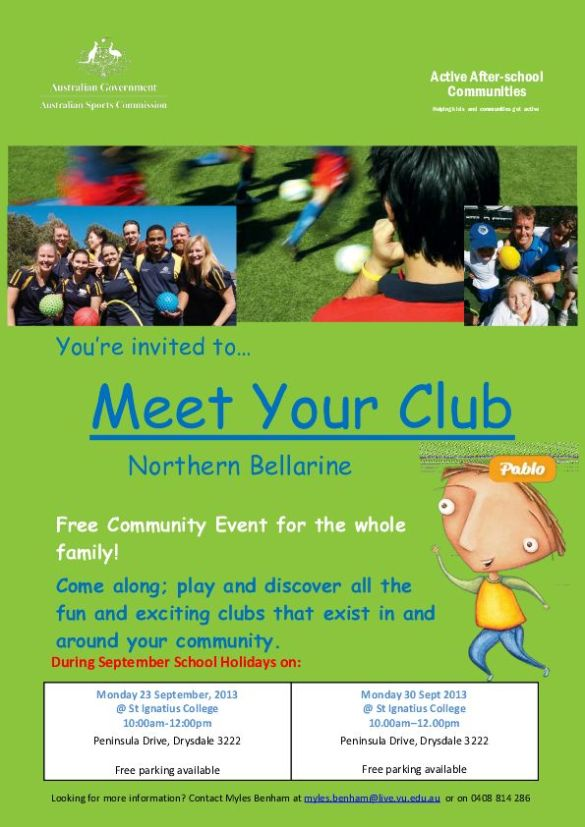 Meet Your Club Northern Bellarine